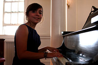 Elayna Hallal on the Piano