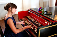 Elayna Hallal on the Harpsichord